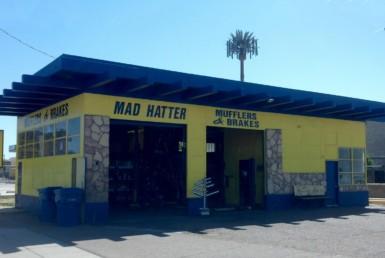 Mad Hatter Muffler storefront