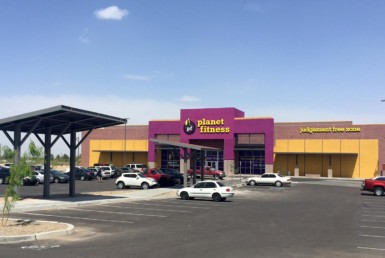 Tucson Planet Fitness property front